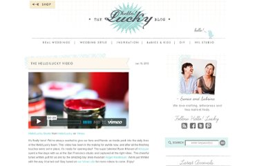 http://www.hellolucky.com/wordpress/2012/01/19/the-hellolucky-video/