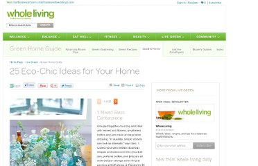 http://www.wholeliving.com/136142/25-eco-chic-ideas-your-home