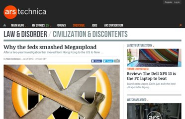 http://arstechnica.com/tech-policy/news/2012/01/why-the-feds-smashed-megaupload.ars