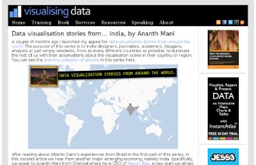 http://www.visualisingdata.com/index.php/2011/08/data-visualisation-stories-from-india-by-ananth-mani/