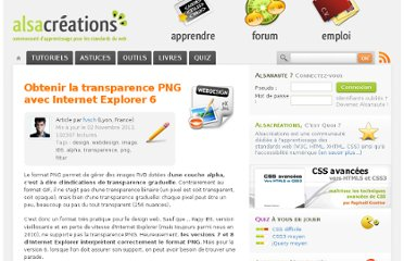 http://www.alsacreations.com/article/lire/81-transparence-png-ie6.html