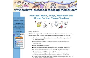 http://www.creative-preschool-teaching-themes.com/preschool-music.html