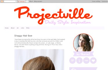 http://welcometoprojectville.blogspot.com/2012/01/shaggy-hair-bow.html