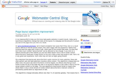 http://googlewebmastercentral.blogspot.com/2012/01/page-layout-algorithm-improvement.html