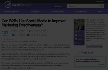http://blog.marketo.com/blog/2012/01/can-b2bs-use-social-media-to-improve-marketing-effectiveness.html