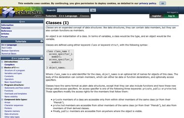 http://www.cplusplus.com/doc/tutorial/classes/