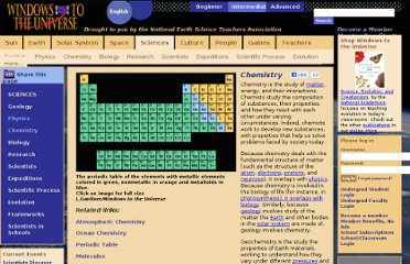 http://www.windows2universe.org/physical_science/chemistry/chemistry.html