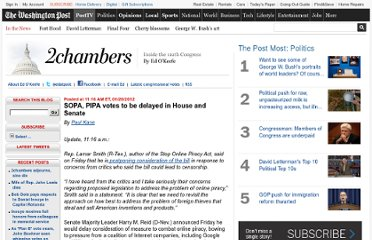 http://www.washingtonpost.com/blogs/2chambers/post/sopa-senate-vote-to-be-delayed-reid-announces/2012/01/20/gIQApRWVDQ_blog.html