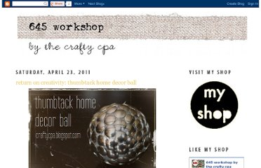 http://craftycpa.blogspot.com/2011/04/return-on-creativity-thumbtack-home.html