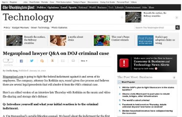 http://www.washingtonpost.com/business/technology/megaupload-lawyer-qanda-on-doj-criminal-case/2012/01/20/gIQA3HJhDQ_story.html