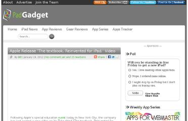 http://www.padgadget.com/2012/01/19/apple-release-the-textbook-reinvented-for-ipad-video/