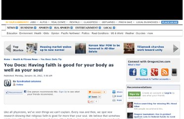 http://www.oregonlive.com/health/index.ssf/2012/01/you_docs_having_faith_is_good.html