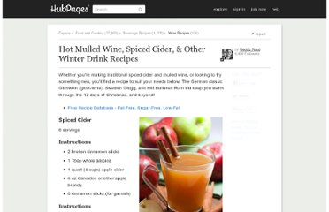 http://maddieruud.hubpages.com/hub/Winter-Drinks