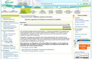 http://www.cramif.fr/risques-professionnels/organismes-formation-convention-habilitation-prevention.asp