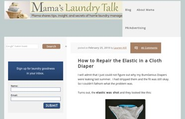 http://www.mamaslaundrytalk.com/2010/02/25/how-to-repair-the-elastic-in-a-cloth-diaper/
