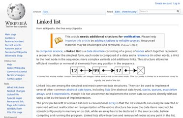 http://en.wikipedia.org/wiki/Linked_list