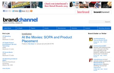http://www.brandchannel.com/home/post/2012/01/20/At-the-Movies-SOPA-Product-Placement-012012.aspx