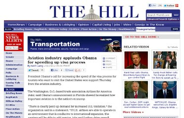 http://thehill.com/blogs/transportation-report/aviation/205225-airlines-applaud-obama-for-speeding-up-visa-process