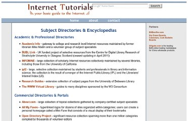 http://www.internettutorials.net/subject.asp