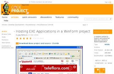 http://www.codeproject.com/Articles/9123/Hosting-EXE-Applications-in-a-WinForm-project