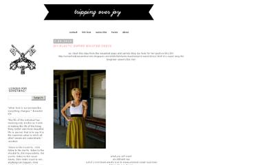 http://www.tripoverjoy.com/2010/07/diy-elastic-empire-waisted-dress.html