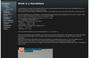 http://sites.google.com/site/mandelbox/what-is-a-mandelbox