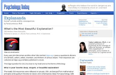http://www.psychologytoday.com/blog/explananda/201201/what-s-the-most-beautiful-explanation