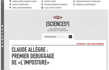 http://sciences.blogs.liberation.fr/home/2010/02/claude-all%C3%A8gre-premier-debuggage-de-limposture.html