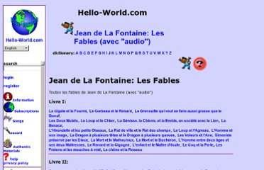 http://www.hello-world.com/French/Fontaine_fables/index.php