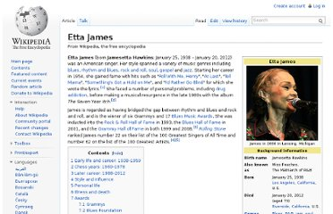 http://en.wikipedia.org/wiki/Etta_James