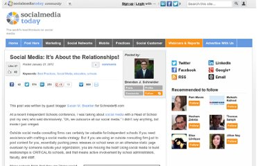 http://socialmediatoday.com/schneiderb/432575/social-media-it-s-about-relationships