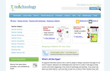 http://www.teach-nology.com/tutorials/design_site/
