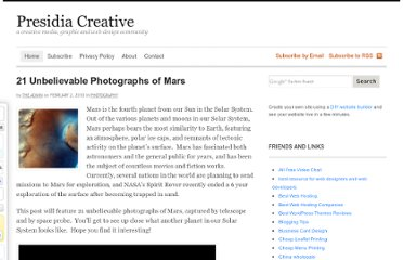 http://www.presidiacreative.com/21-unbelievable-photographs-of-mars/