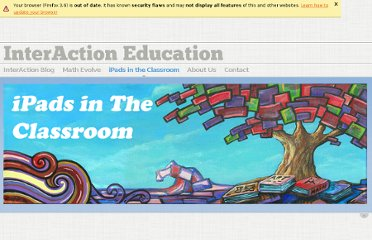 http://interactioneducation.com/ipadsineducation.html#.TngRcSwbgxU.twitter