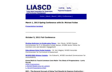 http://www.liascd.org/conferences/