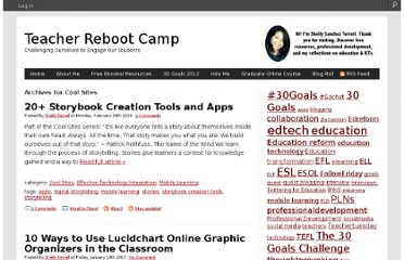 http://teacherbootcamp.edublogs.org/category/cool-sites/