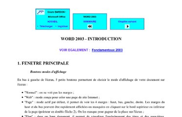 http://www.coursbardon-microsoftoffice.fr/word2003/introduction.htm