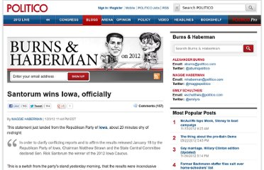 http://www.politico.com/blogs/burns-haberman/2012/01/santorum-now-the-iowa-winner-officially-111713.html