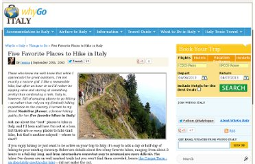 http://www.italylogue.com/things-to-do/five-favorite-places-to-hike-in-italy.html