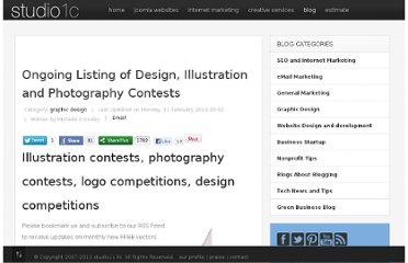 http://studio1c.com/blog/27-designers-and-webmasters/126-ongoing-listing-of-design-illustration-and-photography-contests.html