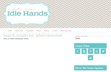 http://notsoidlehands.blogspot.com/search/label/chocolate