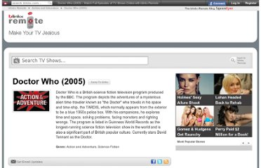 http://tv.blinkx.com/show/doctor-who-2005/bgBs9J8Ku-WtDDOt