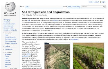 http://en.wikipedia.org/wiki/Soil_retrogression_and_degradation