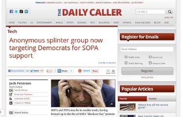 http://dailycaller.com/2012/01/20/anonymous-splinter-group-now-targeting-democrats-for-sopa-support/