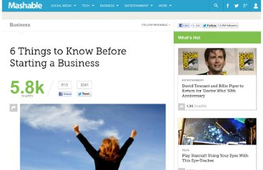 http://mashable.com/2012/01/21/6-things-starting-business/