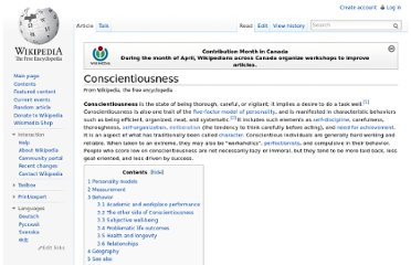 http://en.wikipedia.org/wiki/Conscientiousness