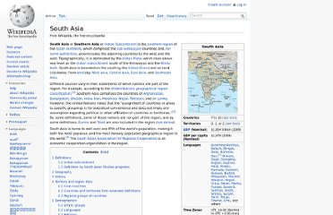 http://en.wikipedia.org/wiki/South_Asia