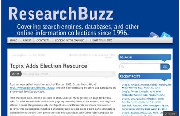 http://researchbuzz.me/2010/10/25/topix-adds-election-resource/