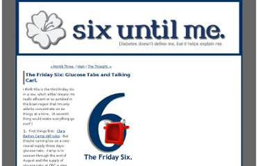 http://sixuntilme.com/blog2/2010/07/the_friday_six.html