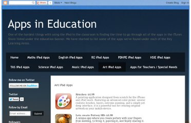 http://appsineducation.blogspot.com/p/art-ipad-apps.html
